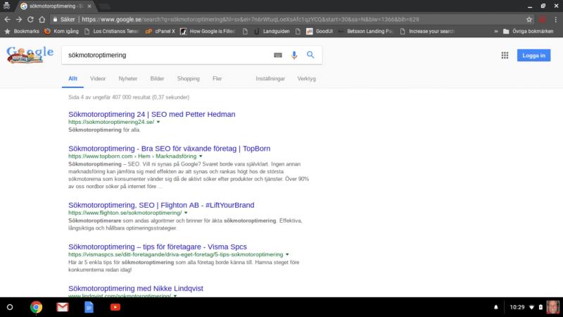 sokresultat Google